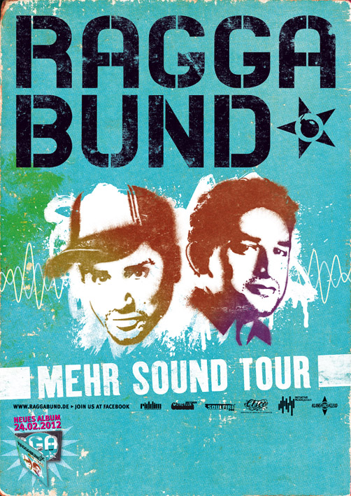 Raggabund Tourplakat 2012