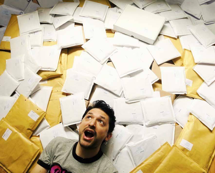 Crowdversand Pakete
