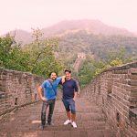 Die große chinesische Mauer! (Foto: Leske)